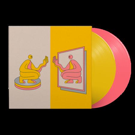 DJ Seinfeld: Mirrors: Signed Exclusive Pantone Pink + Yellow Vinyl 2LP