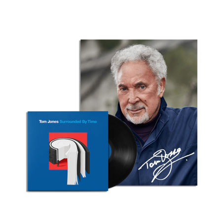 Tom Jones: Surrounded by Time Vinyl and Signed Photo Print