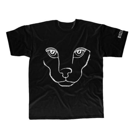 Disclosure: 'CARACAL' T-SHIRT (BLACK & WHITE)
