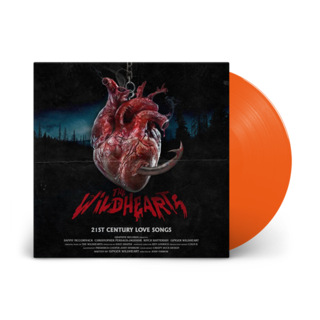 The Wildhearts: 21st Century Love Songs: Recordstore Exclusive Clockwork Orange Vinyl LP + Signed Print