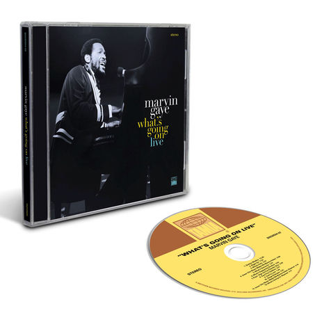 Marvin Gaye: What's Going On Live (CD)