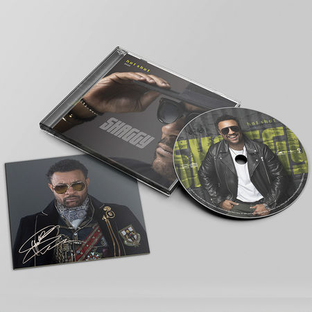 Shaggy: HOT SHOT 2020 CD with Signed Card