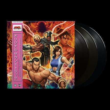 Namco Sounds: Tekken 5 (Original Soundtrack): Black Vinyl 3LP