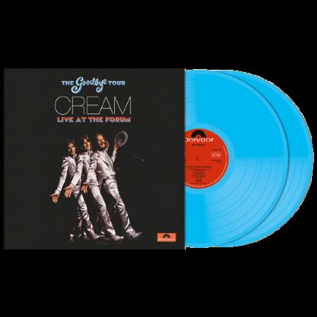 Cream: Goodbye Tour – Live At The Los Angeles Forum 1968: Exclusive Transparent Blue Vinyl