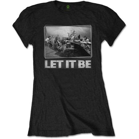 The Beatles: Let It Be Studio Womens T-Shirt