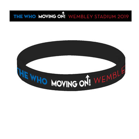 The Who: Europe Silicon Wristband