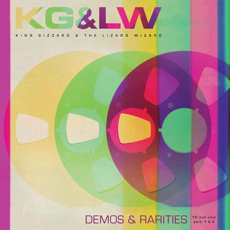 King Gizzard & The Lizard Wizard: Demos & Rarities (Fuzz Club Official Bootleg): 180gm Pink + Green Vinyl 2LP