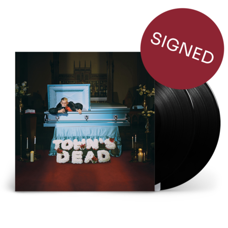 Kojaque: Town's Dead: Double Vinyl 2LP + Signed Print