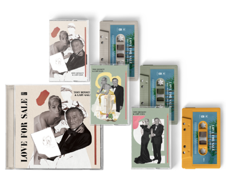 Tony Bennett & Lady Gaga: Love For Sale CD + Cassette Bundle