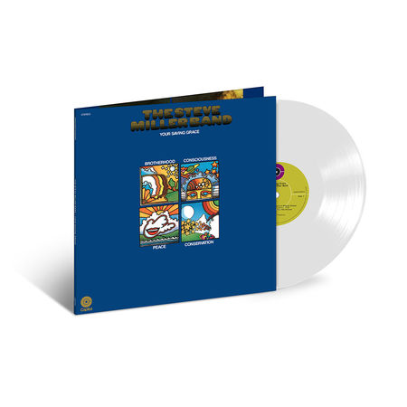 Steve Miller Band: Your Saving Grace: Exclusive White Vinyl