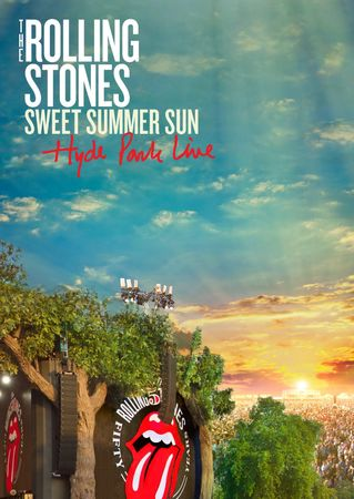 The Rolling Stones: Sweet Summer Sun: Hyde Park Live (2 DVD + Bluray + 2CD)