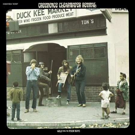 Creedence Clearwater Revival : Willy and the Poor Boys (Half-Speed Master)