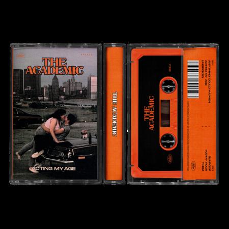 The Academic : Acting My Age Orange Cassette