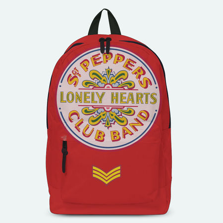 The Beatles: Lonely Hearts Red Backpack