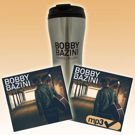 Bobby Bazini: Where I Belong (CD) + Download (MP3) + Travel Mug