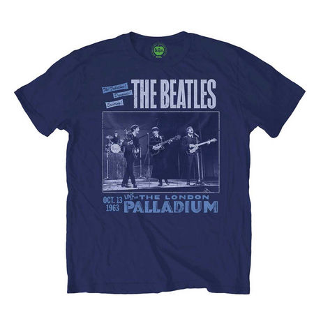 The Beatles: Palladium T-Shirt Navy