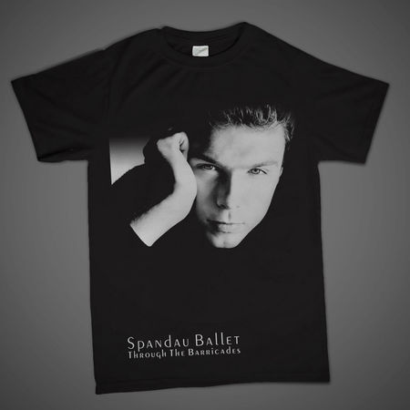Spandau Ballet: Iconic Photo 'Gary' T-Shirt