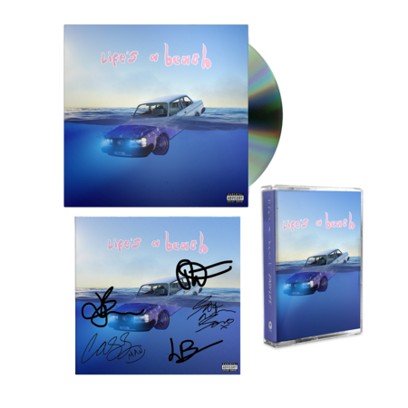 Easy Life: life's a beach: cd, cassette + signed art card