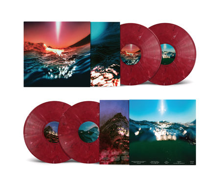 Bonobo: Fragments: Limited Edition Red Marbled Vinyl 2LP + Signed Print