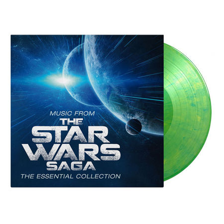Robert Ziegler: Music From The Star Wars Saga (OST) - The Essential Collection: Limited Edition Yoda-Green Marbled Vinyl