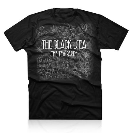 The Tea Party: Ocean At The End Tee Small