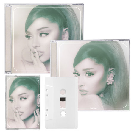 Ariana Grande: positions: standard cd, exclusive cd one + frosted white cassette