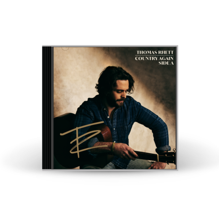 Thomas Rhett: COUNTRY AGAIN SIDE A SIGNED CD