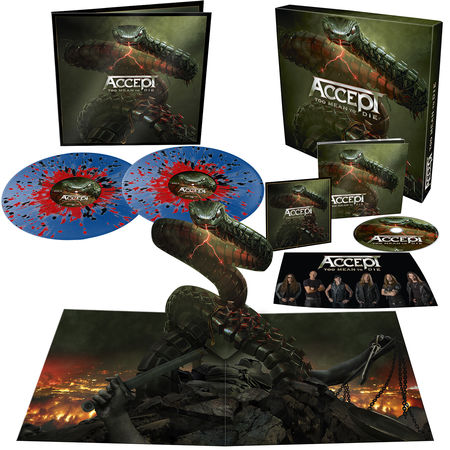 Accept: Too Mean To Die: Limited Edition Box Set + Signed Photocard