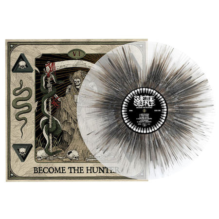 Suicide Silence: Become The Hunter: Limited Edition Clear + Black & White Splatter Vinyl