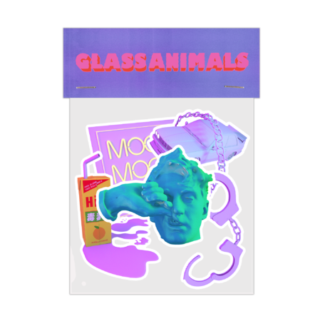 Glass Animals: Your Love Sticker Pack