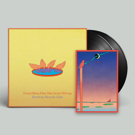 Bombay Bicycle Club: Everything Else Has Gone Wrong: Signed Deluxe Half-Speed Vinyl + Poster