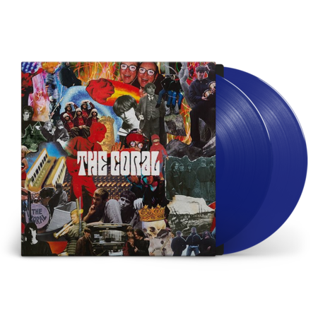 The Coral: The Coral: Signed Exclusive 20th Anniversary Blue Vinyl 2LP