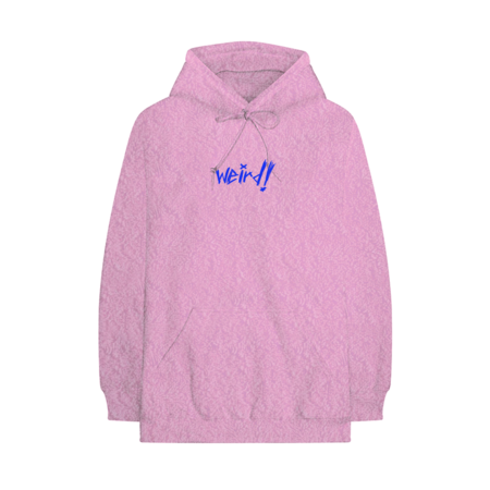 Yungblud: PINK Weird! FRENCH TERRY HOODIE