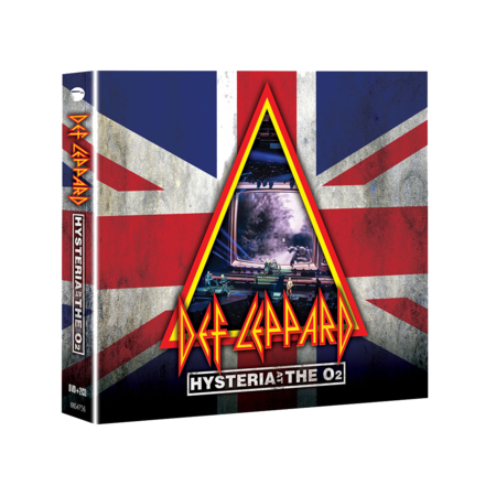 Def Leppard: Hysteria At The O2: BLU-RAY + 2CD