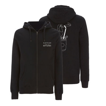 Catfish And The Bottlemen: LOGO ZIP HOODIE