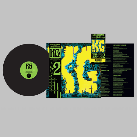 King Gizzard & The Lizard Wizard: K.G: Recycled Black Wax