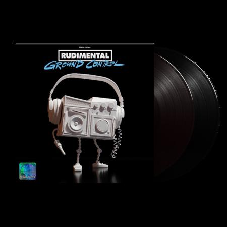 Rudimental: Ground Control: Black Vinyl 2LP