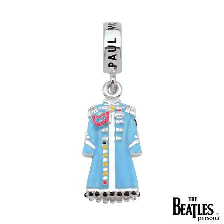 The Beatles: 925 Sterling Silver Sgt. Pepper Paul McCartney Jacket Charm