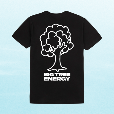 Disclosure: Big Tree Energy Tee: Black