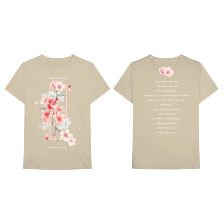 Shawn Mendes: Festival Tour T-Shirt - XL