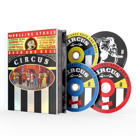 The Rolling Stones: Rolling Stones Rock & Roll Circus (50th Anniversary) (Deluxe 4 Disc)