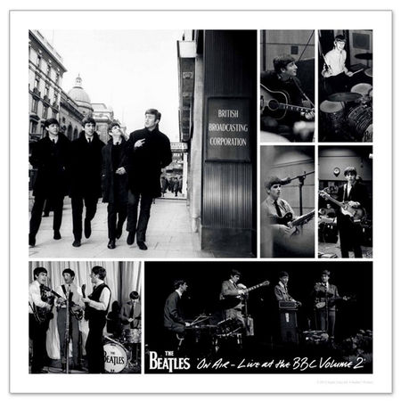 The Beatles: 'Live at the BBC Volume 2' Limited Edition Lithographic Print