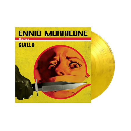 Ennio Morricone: Giallo: Limited Edition Clear, Yellow & Black Vinyl