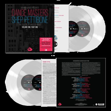 Various Artists: Arthur Baker Presents Dance Masters - The Shep Pettibone Master-Mixes - Vol One Part One - Clear Vinyl 2LP