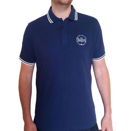The Beatles: Unisex Polo Shirt: Drum Logo