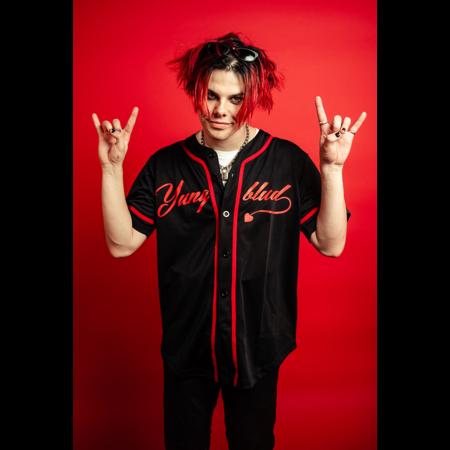Yungblud: 666 BLACK BASEBALL JERSEY