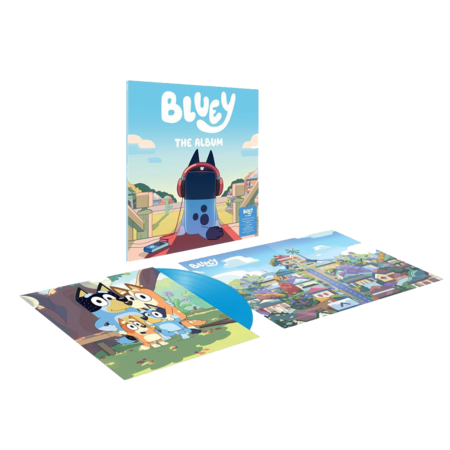 Bluey: Bluey: Deluxe Colour Vinyl LP + Poster