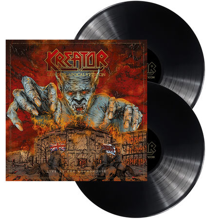 Kreator: London Apocalypticon: Limited Edition Gatefold Double 180gm Vinyl