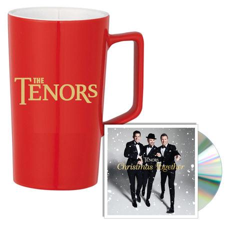The Tenors: Christmas Together CD + Mug