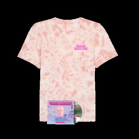Glass Animals: Dreamland Pink Tee + CD